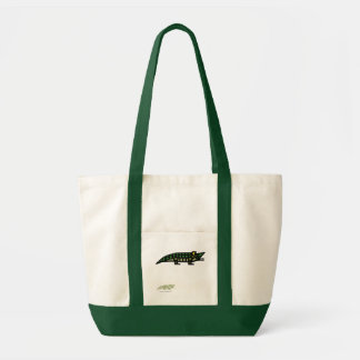 """Genuine"" Alligator Tote"