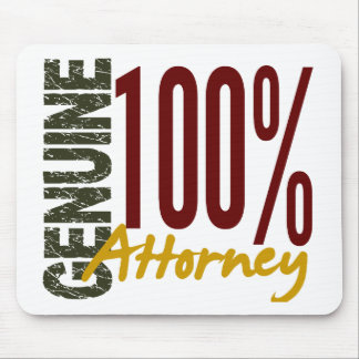 Genuine Attorney Mouse Pads