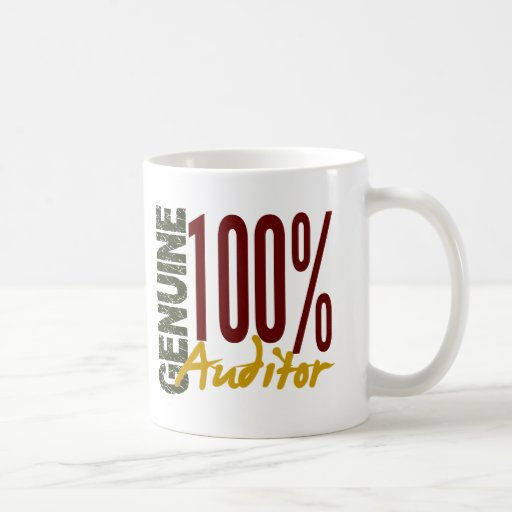 Genuine Auditor Mugs