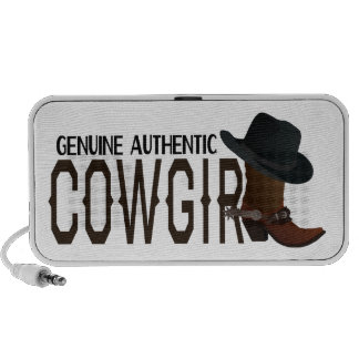 Genuine Authentic COWGIRL Boot & Hat iPhone Speaker