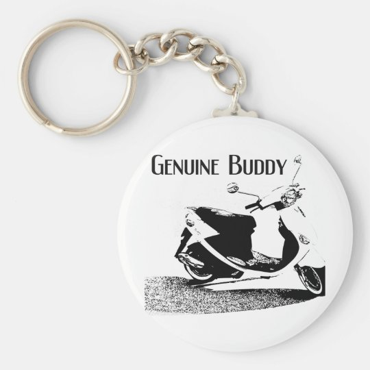 Genuine Buddy Black Key Ring