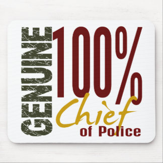 Genuine Chief Of Police Mouse Mat