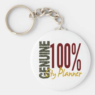 Genuine City Planner Key Chain