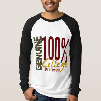 Genuine College Professor T-Shirt