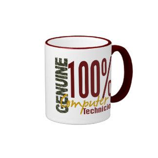 Genuine Computer Technician Coffee Mugs