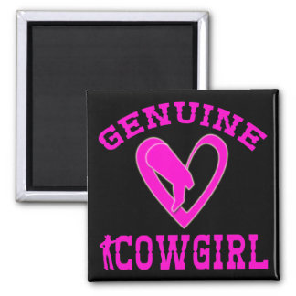 GENUINE COWGIRL MAGNET