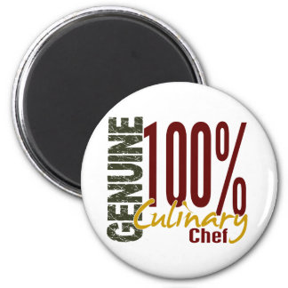 Genuine Culinary Chef 6 Cm Round Magnet