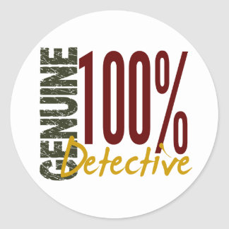 Genuine Detective Stickers