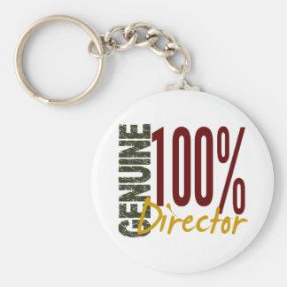 Genuine Director Basic Round Button Key Ring