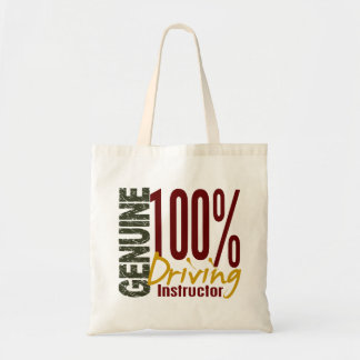 Genuine Driving Instructor Budget Tote Bag