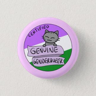 Genuine Genderqueer 3 Cm Round Badge