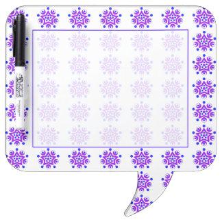 Geo 3 dry erase board