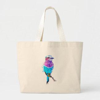 Geo Bird Jumbo Tote Bag