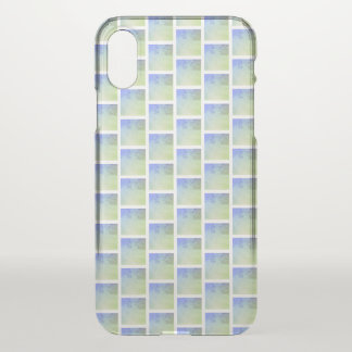 Geo Blue iPhone Case