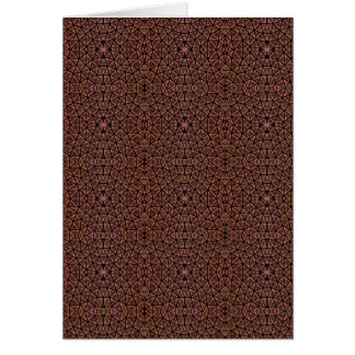 [GEO-BRO-1] Brown cobble pattern Cards