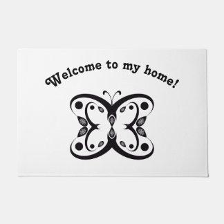 Geo Butterfly Doormat