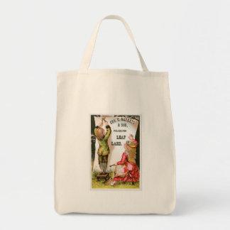 GEO C Napheys Vintage Food Ad Art Canvas Bags