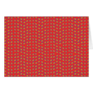 Geo Dots Hot Red Cards