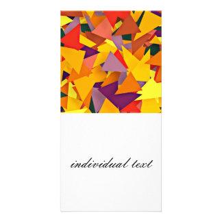 geo Fun 8 colorful (I) Photo Cards