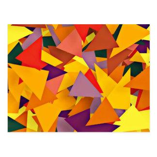 geo Fun 8 colorful (I) Postcard