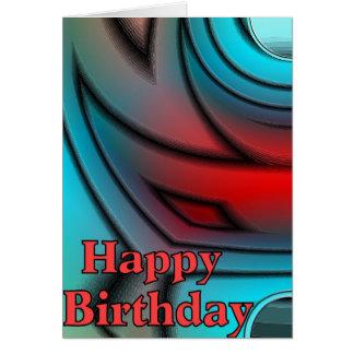 Geo Happy Birthday Cards