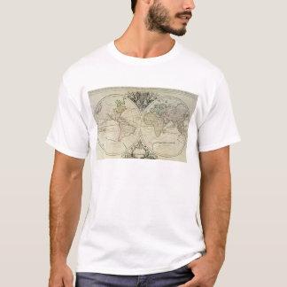 Geo-Hydrographic Mappamonde T-Shirt