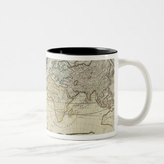 Geo-Hydrographic Mappamonde Two-Tone Coffee Mug