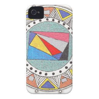 geo mandala iPhone 4 cover