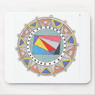 geo mandala mouse pads