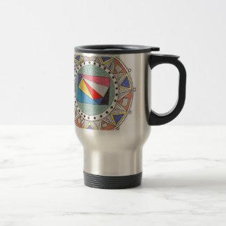 geo mandala coffee mugs