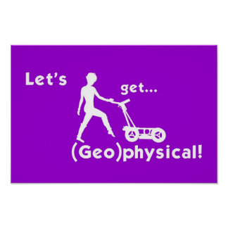 (Geo)physical! Poster