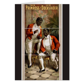 Geo Primrose Lew Dockstader Vintage Theater Cards