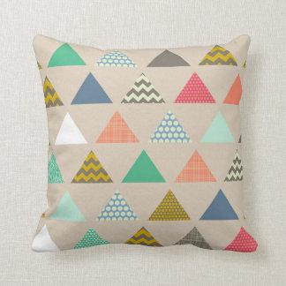 geo triangles cushion
