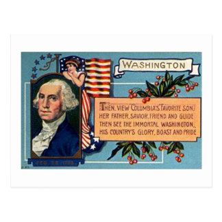 Geo Washington Postcard