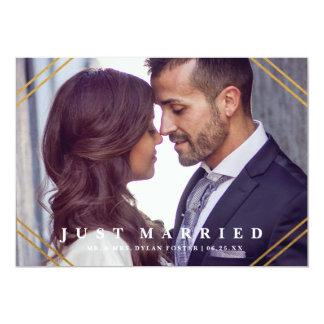 Geo wedding announcement