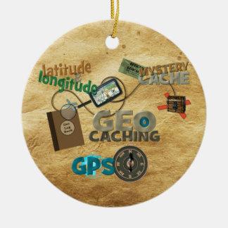 Geocache Fever - Customize Christmas Ornament