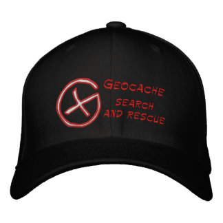 Geocache Search and rescue Embroidered Hats