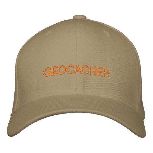 GEOCACHER EMBROIDERED HAT
