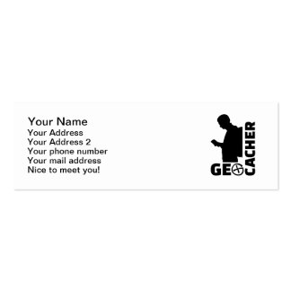 Geocacher Pack Of Skinny Business Cards