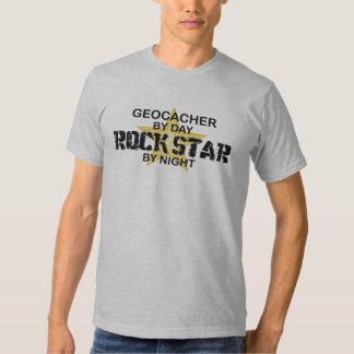 Geocacher Rock Star by Night Tees