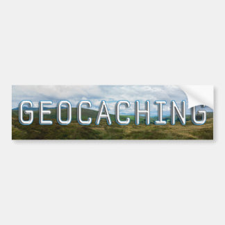 Geocaching banner bumper sticker