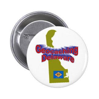Geocaching Delaware Button