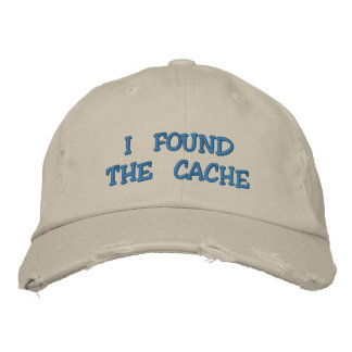 Geocaching Embroidered Hats