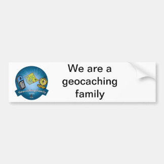 Geocaching Family Bumper Sticker