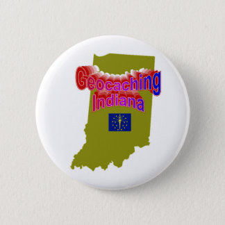 Geocaching Indiana Button