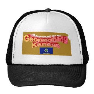 Geocaching Kansas Hat