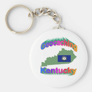 Geocaching Kentucky Keychain