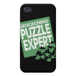 Geocaching Puzzle Expert Cover For iPhone 4