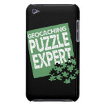 Geocaching Puzzle Expert iPod Touch Cases