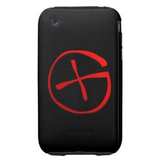 Geocaching Symbol iPhone 3 Tough Cases